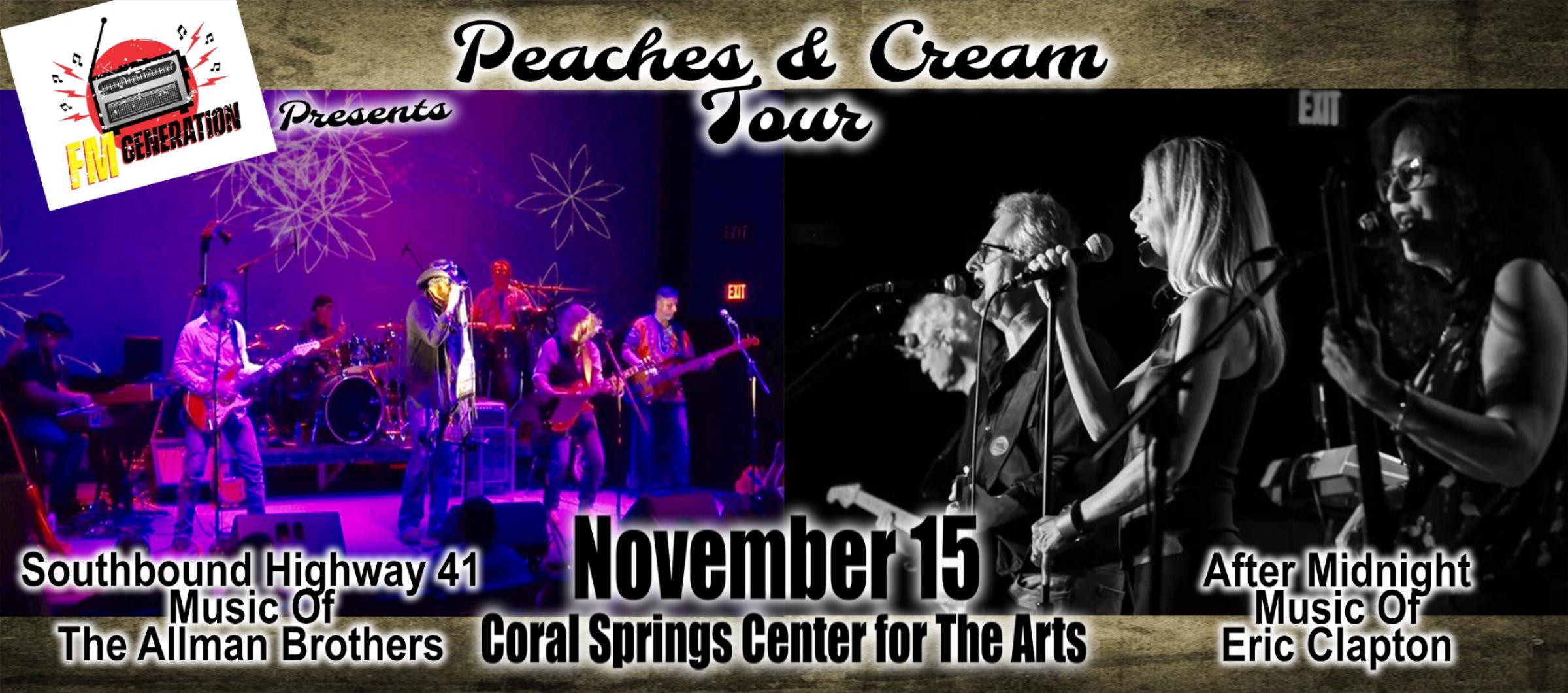 Peaches n Cream Tour