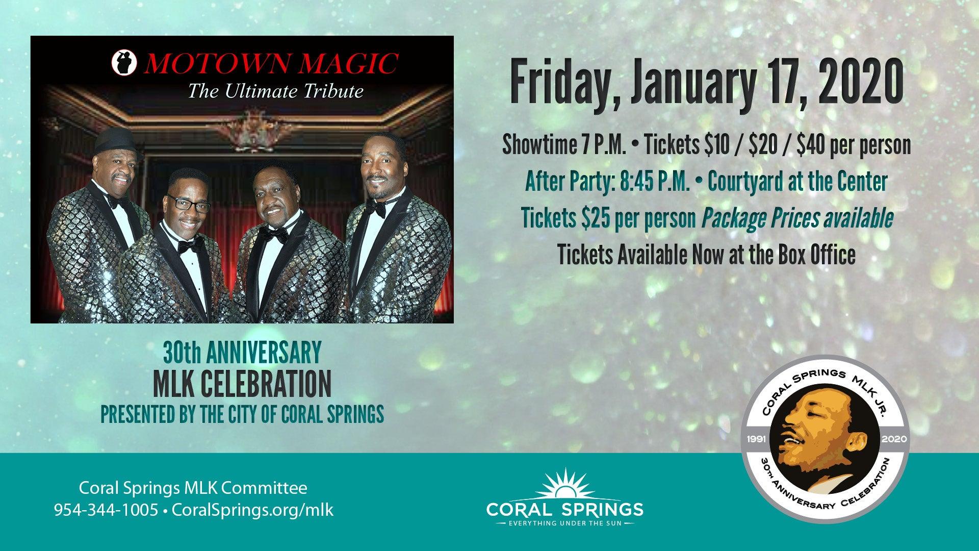 MLK Celebration: Motown Magic