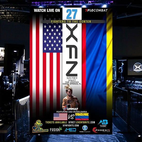 More Info for Xtreme Fighting Nation 27