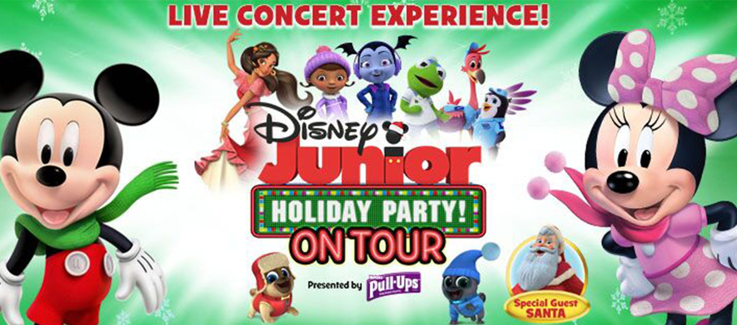 Christmas Holiday Party.Disney Junior Holiday Party Coral Springs Center For The Arts