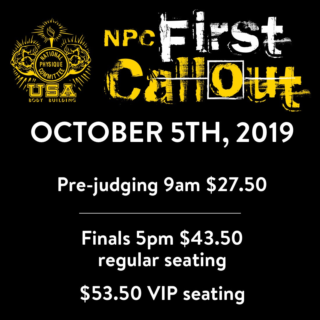 More Info for NPC First Call Out